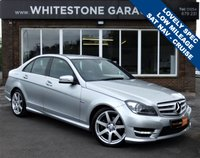 USED 2012 12 MERCEDES-BENZ C CLASS 1.8 C180 BLUEEFFICIENCY SPORT 4d 155 BHP AMG BODY STYLING, SATELLITE NAVIGATION, LOW MILES, FRONT AND REAR PARKING SENSORS,