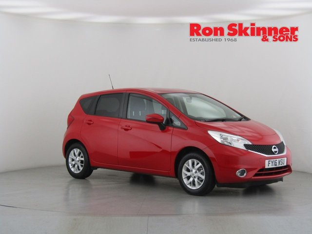 View our 2016 16 NISSAN NOTE 1.2 ACENTA 5d 80 BHP