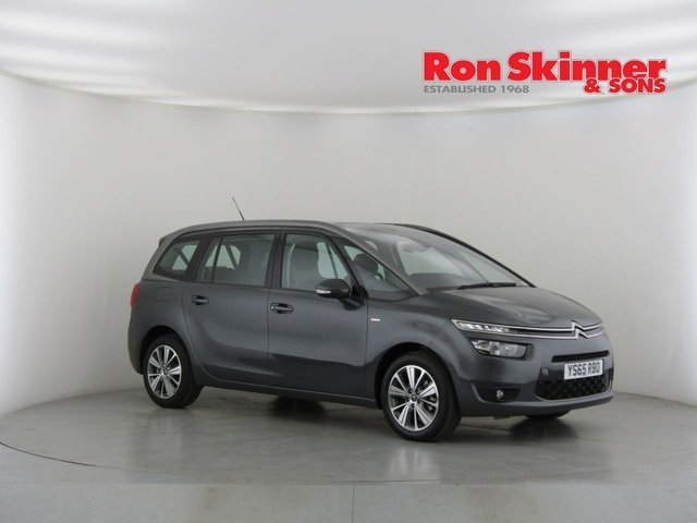 View our 2015 65 CITROEN C4 GRAND PICASSO 1.6 BLUEHDI EXCLUSIVE 5d 118 BHP