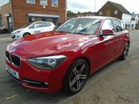 USED 2013 13 BMW 1 SERIES 1.6 116I SPORT 5d 135 BHP ULEZ EXEMPT GREAT FINANCE DEALS AVAILABLE