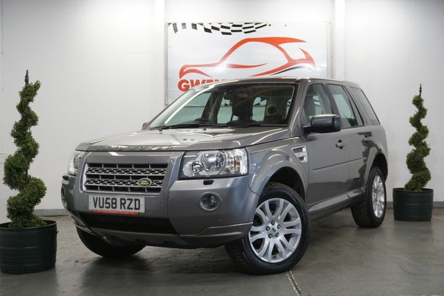 USED 2008 58 LAND ROVER FREELANDER 2 2.2 TD4 HSE 5d AUTO 159 BHP CLEAN EXAMPLE HIGH SPEC FREELANDER 2,LEATHER,PANROOF,NAV,