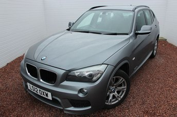 2012 BMW X1 2.0 SDRIVE18D M SPORT 5d 141 BHP £11299.00