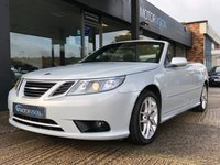 USED 2009 09 SAAB 9-3 1.8 VECTOR SPORT 2d 150 BHP Heated Leather, Cruise control, Full S/history, Low mileage