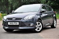 USED 2011 61 FORD FOCUS 1.6 Ti-VCT Zetec 5dr SERVICE HISTORY+LONG MOT