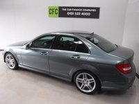 USED 2011 11 MERCEDES-BENZ C CLASS 2.1 C220 CDI BLUEEFFICIENCY SPORT 4d AUTO 168 BHP