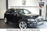 "USED 2012 62 AUDI Q5 2.0 TDI QUATTRO S LINE PLUS 5DR 168 BHP superb service history * NO ADMIN FEES * FINISHED IN STUNNING PHANTOM BLACK WITH FULL BLACK LEATHER INTERIOR + SUPERB SERVICE HISTORY + SATELLITE NAVIGATION + BLUETOOTH + DAB RADIO + CRUISE CONTROL + SPORT SEATS + HEATED MIRRORS + AIR CON + AUXILIARY PORT + PARKING SENSORS + 20"" ALLOY WHEELS."