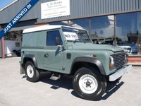 USED 2010 LAND ROVER DEFENDER 2.4 90 HARD TOP SWB 2d 121 BHP ALL ORIGINAL LANDROVER DEFENDER WITH LOW MILES AND NO VAT!!!