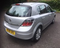USED 2008 08 VAUXHALL ASTRA 1.6 SXI 5d 115 BHP