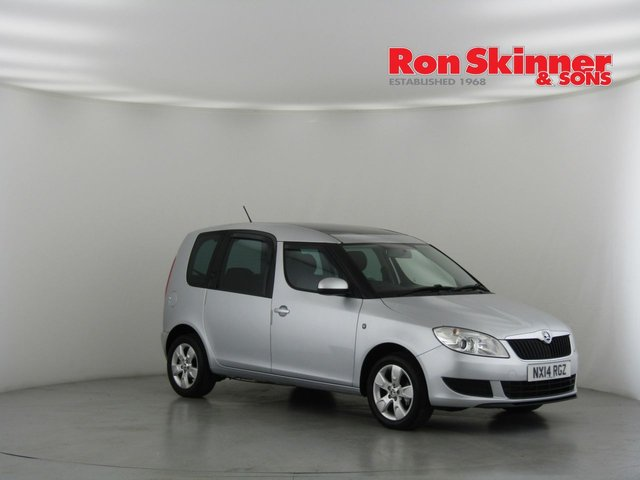 View our 2014 63 SKODA ROOMSTER 1.2 SE TSI 5d 84 BHP