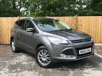 USED 2014 63 FORD KUGA 2.0 TITANIUM TDCI 5d 160 BHP Full Service History, Power Tailgate, Bluetooth