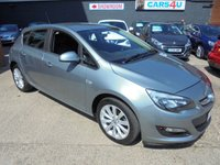 USED 2013 62 VAUXHALL ASTRA 1.6 ACTIVE 5d 113 BHP