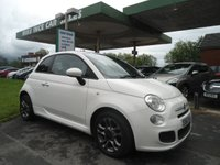 2013 FIAT 500 1.2 S 3d 69 BHP 5 SERVICE STAMPS £4995.00