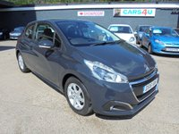 USED 2016 16 PEUGEOT 208 1.2 ACTIVE 3d 82 BHP