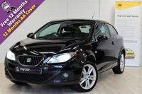 USED 2009 59 SEAT IBIZA 1.6 SPORT 3d 103 BHP SERVICE HISTORY, 12 MONTHS WARRANTY