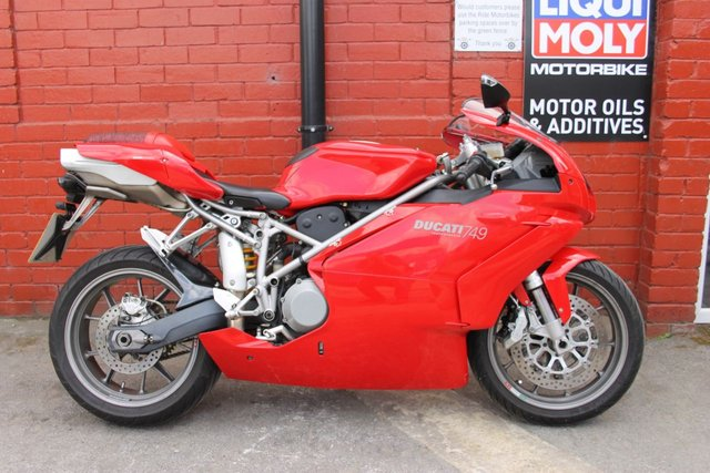 USED 2004 04 DUCATI 749 SB BIP  A Sport Bike Icon. Finance and Delivery Available