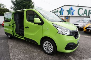 2016 RENAULT TRAFIC 2.9T 1.6 LL29 ENERGY DCI 140 SPORT CREWCAB 6DR ( NO VAT !! ) £18989.00
