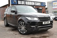 USED 2016 16 LAND ROVER RANGE ROVER SPORT 3.0 SDV6 HSE DYNAMIC 5d AUTO 306 BHP 16 MONTHS LAND ROVER WARRANTY