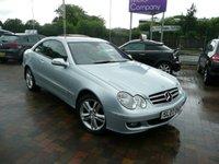2007 MERCEDES-BENZ CLK 1.8 CLK200 KOMPRESSOR AVANTGARDE 2d AUTO 161 BHP £3999.00