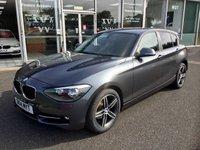 USED 2014 14 BMW 1 SERIES 2.0 116D SPORT 5 DOOR HATCHBACK 114 BHP