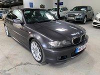 USED 2005 55 BMW 3 SERIES 3.0 330CI SPORT 2d AUTO 228 BHP