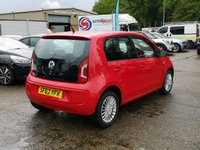 USED 2013 63 VOLKSWAGEN UP 1.0 HIGH UP 5d 74 BHP