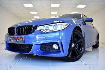2016 BMW 4 SERIES 420D M SPORT SPORT AUTOMATIC  £19995.00