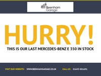 USED 2016 66 MERCEDES-BENZ E 350 E Class 3.0 E350d AMG Line (Premium Plus) 9G-Tronic (s/s) 4dr