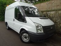2012 FORD TRANSIT 2.2 280 1d 99 BHP SHORT WHEEL BASE MEDIUM ROOF PANEL VAN £5995.00