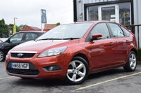 USED 2009 58 FORD FOCUS 1.6 ZETEC 5d AUTO 100 BHP Full Service History With 10 Stamps.