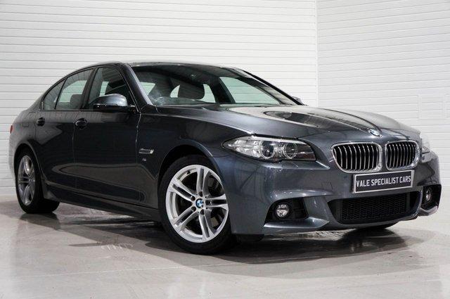 2015 15 BMW 5 SERIES 2.0 520D M SPORT AUTO (SAT NAV)
