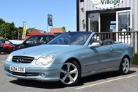 USED 2004 04 MERCEDES-BENZ CLK 2.6 CLK240 AVANTGARDE 2d AUTO 170 BHP Full Service History With 8 Stamps