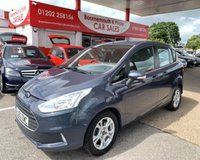 2013 FORD B-MAX 1.4 ZETEC 5d 89 BHP *ONLY 56,000 MILES* £6995.00