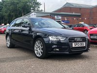 USED 2013 13 AUDI A4 2.0 AVANT TDI QUATTRO SE TECHNIK 5d 174 BHP NAVIGATION SYSTEM *  SERVICE RECORD *  1 PREVIOUS KEEPER *  HEATED SEATS *  FULL LEATHER *  BLUETOOTH *
