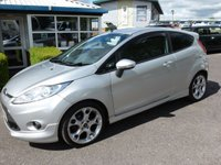 "USED 2010 59 FORD FIESTA 1.6 ZETEC S TDCI 3d 89 BHP PART EXCHANGE VEHICLE  FORD FIESTA ZETEC S, 3 door in Moondust Silver Specification includes, Cruise control, 2 keys, Parking sensors,  £20 RFL, Recent service including Cambelt & water pump change, 17"" alloys, good service History."