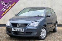 USED 2006 55 VOLKSWAGEN POLO 1.2 E 3d 63 BHP SERVICE HISTORY, 3 MONTHS WARRANTY