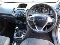 USED 2014 64 FORD FIESTA ZETEC 1.25 3DR 82 BHP, ONLY £30 ROAD TAX LOW INSURANCE GROUP & GOOD FUEL ECONOMY.