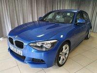 USED 2013 63 BMW 1 SERIES 2.0 120D M SPORT 5d AUTO 181 BHP