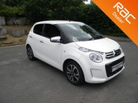 USED 2017 17 CITROEN C1 1.2 PURETECH FLAIR 5d 82 BHP Free To Tax! Alloy Wheels, Bluetooth, Reversing Camera, Touchscreen Radio, DAB