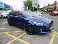 USED 2015 65 FORD MONDEO 1.5 TITANIUM ECONETIC TDCI 5d 114 BHP Full Service History & A Large Specification
