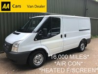 2019 FORD TRANSIT 300 SWB *16,000 MILES*300 WEIGHT*100PS*1 OWNER FROM NEW*