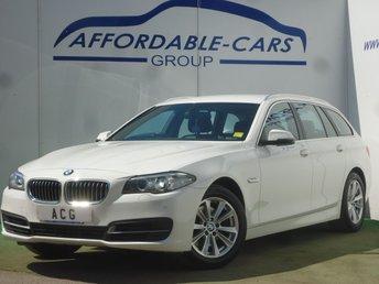 2015 BMW 5 SERIES 2.0 520D SE TOURING 5d 188 BHP £10750.00