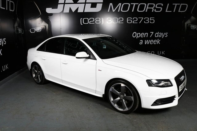 2011 AUDI A4 2.0 TDI BLACK EDITION AUTO 143 BHP (FINANCE AND WARRANTY)