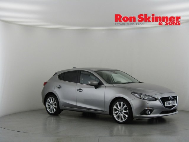 View our 2014 64 MAZDA 3 2.0 SPORT NAV 5d 118 BHP