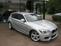 USED 2015 64 BMW 1 SERIES 2.0 118D M SPORT 5d 141 BHP