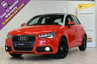 USED 2014 14 AUDI A1 1.6 SPORTBACK TDI SPORT 5d 103 BHP SAT NAV, CRUISE CONTROL, ACOUSTIC PARKING, TECHNOLOGY PACK, COMFORT PACK, FSH