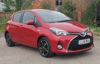 2016 TOYOTA YARIS 1.5 VVT-I DESIGN M-DRIVE S TSS 5d AUTO 73 BHP £11295.00