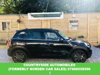 USED 2011 E MINI COUNTRYMAN 2.0 COOPER SD ALL4 5d 141 BHP Full service history with all but one stamp at main dealer, just had new clutch and flywheel done costing nearly £700 in march this year, Full cream leather, 3 way split rear seats, cruise control, cooper s sill protectors, CD Radio boost, aux and USB media input, looks and drives superb and stands big and bold and in my opinion is the best looking mini on the market and a competant 4 x 4 .