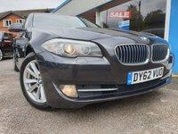 2012 BMW 5 SERIES 2.0 520D SE 4d AUTO 181 BHP £8500.00