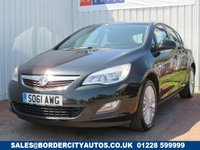 USED 2012 61 VAUXHALL ASTRA 1.4 EXCITE 5d 98 BHP DEALER FULL SERVICE HISTORY