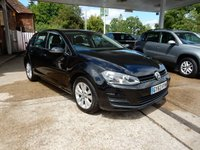 USED 2013 63 VOLKSWAGEN GOLF 1.4 SE TSI BLUEMOTION TECHNOLOGY DSG 5d AUTO 120 BHP GOOD HISTORY,TWO KEYS,MEDIA INPUT,AIR CON,AUTOMATIC